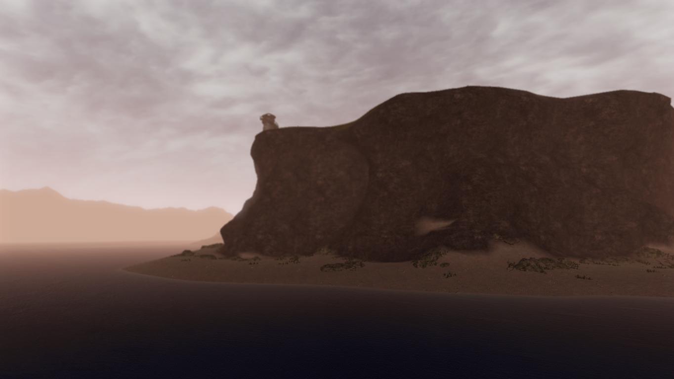 Ardeas Küste bei Tagesanbruch